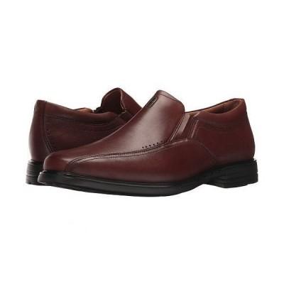 Clarks クラークス メンズ 男性用 シューズ 靴 ローファー UnSheridan Go - Brown Leather