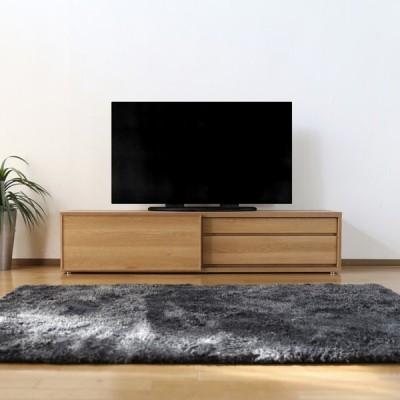 LSL 180テレビ台 テレビボード  ナチュラル ブラウン オーク 幅180×奥行45×高さ40cm 国産 日本製  硬質シート
