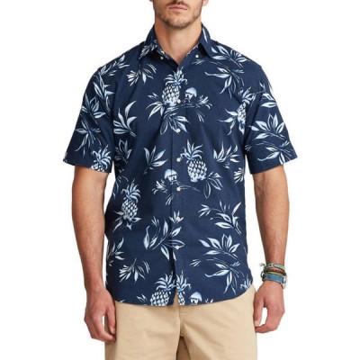 ラルフローレン メンズ シャツ トップス Big & Tall Short-Sleeve Chambray Shirt
