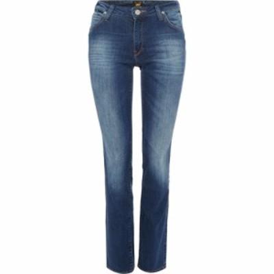 リー Lee Jeans レディース ジーンズ・デニム ボトムス・パンツ Marion Straight Leg Jean Denim Mid Wash