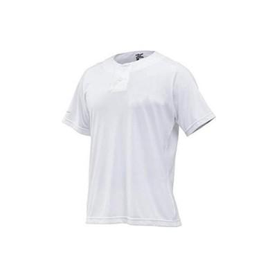 MIZUNO(ミズノ) ベースボールシャツハーフボタン 12JC8L21 カラー:01 サイズ:L