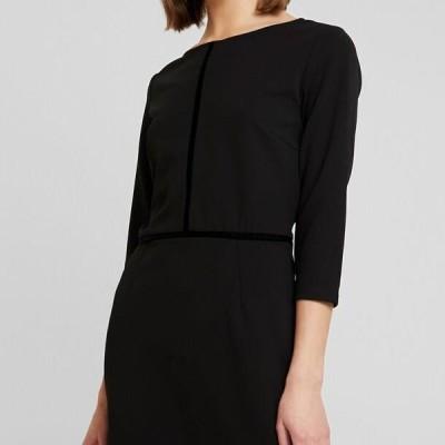 レディース ドレス Shift dress - black