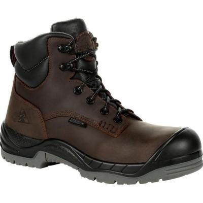 ロッキー Rocky Boots メンズ ブーツ ワークブーツ シューズ・靴 Rocky Worksmart 6 Inch Composite Toe Waterproof Work Boot brown