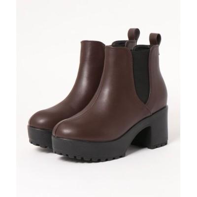 Parade ワシントン靴店 / 【厚底】サイドゴアショートブーツ 4204 WOMEN シューズ > ブーツ