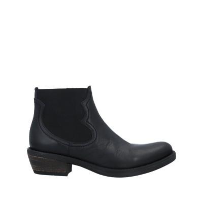 UNISA ショートブーツ ブラック 36 革 ショートブーツ