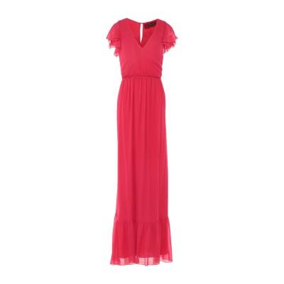 パトリティア ペペ セーラ PATRIZIA PEPE SERA ロングワンピース&ドレス レッド 40 レーヨン 100% ロングワンピース&ドレス