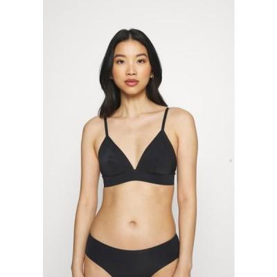 レディース ファッション BRA - Triangle bra - black