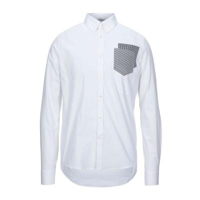 LHU URBAN シャツ ホワイト 46 コットン 96% / ポリウレタン 4% シャツ