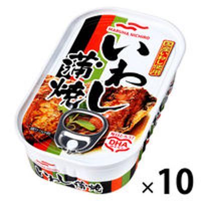 マルハニチロマルハニチロ いわし蒲焼 100g 10個 おかず・惣菜缶詰
