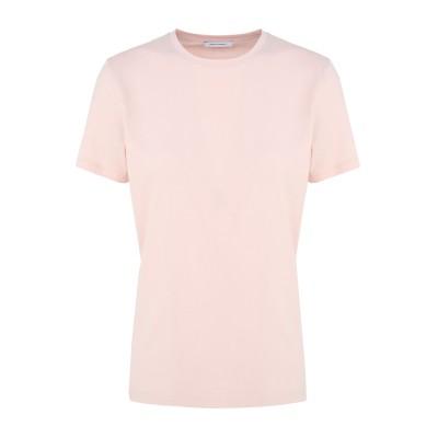 NINETY PERCENT T シャツ ライトピンク XS オーガニックコットン 100% T シャツ
