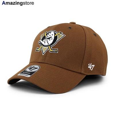 47ブランド カーハート アナハイム マイティーダックス 【CARHARTT NHL MVP CAP/BROWN】 47BRAND ANAHEIM MIGHTY DUCKS