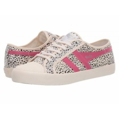 Gola ゴラ レディース 女性用 シューズ 靴 スニーカー 運動靴 Coaster Cheetah Off-White/Fluro Pink【送料無料】