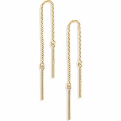 メイドウェル MADEWELL レディース イヤリング・ピアス アメリカンピアス Delicate Collection Demi Fine Threader Earrings 14k Gold