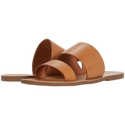 Madewell Boardwalk Double Strap Slide レディース サンダル Desert Camel
