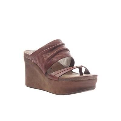 オーティービーティー レディース サンダル シューズ Tailgate Platform Wedge Sandal