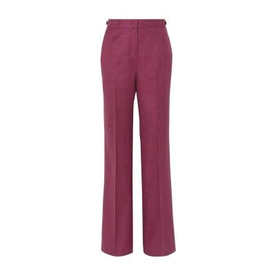 GABRIELA HEARST パンツ ディープパープル 38 バージンウール 49% / シルク 30% / リネン 21% パンツ