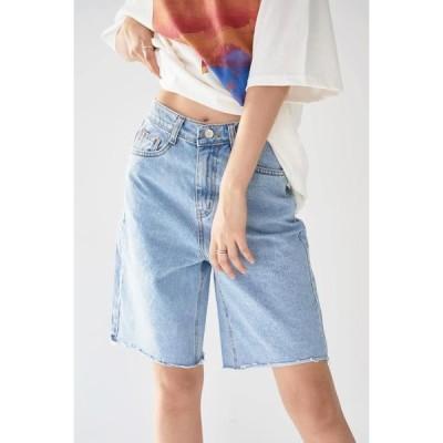 simplymood レディース ショートパンツ Cut Basic Denim Pants