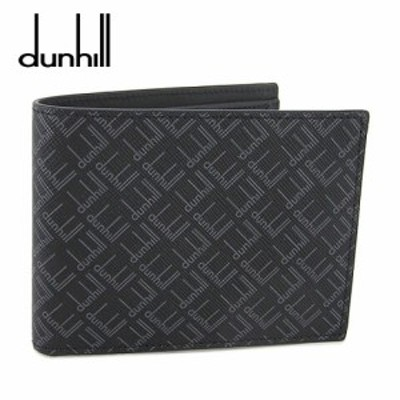【2021春夏新作】 ダンヒル/dunhill メンズ  折財布/サイフ DU21R2320LT (ブラック/001) ダンヒル シグネチャー 4CC & コインパース ビ