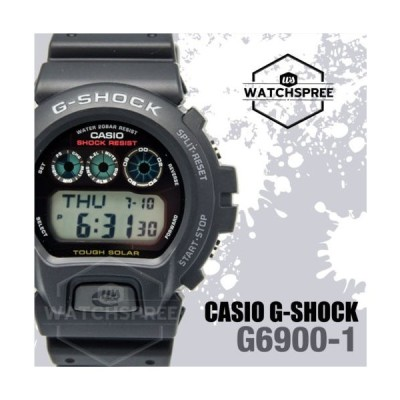 腕時計 カシオ Casio G-Shock Tough Solar Series Watch G6900-1D
