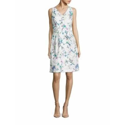 デイビッドマイスター レディース ワンピース Embroidered Floral Dress