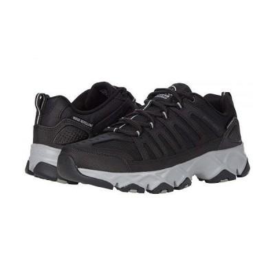 SKECHERS スケッチャーズ メンズ 男性用 シューズ 靴 ブーツ ハイキング トレッキング Crossbar Stilholt - Black/Gray