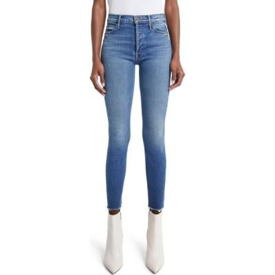 マザー MOTHER レディース ジーンズ・デニム ボトムス・パンツ The Stunner High Waist Frayed Ankle Skinny Jeans So Long