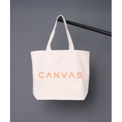 CANVAS MALIBU / 【 CANVAS MALIBU / キャンバスマリブ 】 CANVAS LOGO TOTE BAG キャンバスロゴトートバッグ・・ WOMEN バッグ > トートバッグ