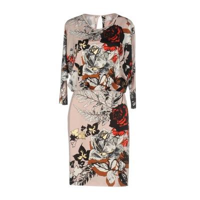 ブルマリン BLUMARINE ミニワンピース&ドレス ピンク 40 レーヨン 93% / ポリウレタン 7% ミニワンピース&ドレス