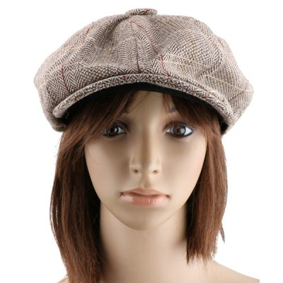キャスケット ハンチング帽 レディース 小顔効果 鳥打帽 帽子 キャップ 男女兼用 日焼け止め ベレー帽 全2色