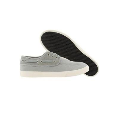スニーカー メンズ ジェネリックサープラス  Generic Surplus Boat Shoe Perf Leather (grey) M01BS09GRY