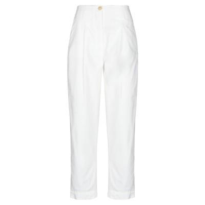 テーラ TELA パンツ ホワイト 46 コットン 100% パンツ