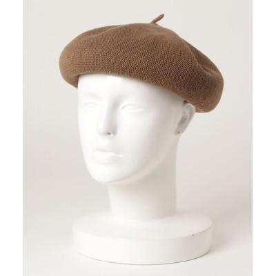 yield / 【Lovable】Cotton Thermo Beret LCA-N77349 WOMEN 帽子 > ハンチング/ベレー帽
