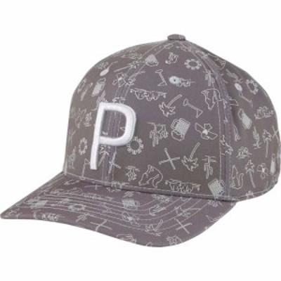 プーマ PUMA メンズ キャップ スナップバック 帽子 Desert P 110 Snapback Golf Hat Quiet Shade
