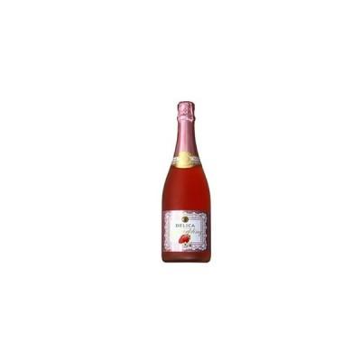 ロゼワイン サントリー デリカ フルーツ スパークリング ストロベリー 750ml wine
