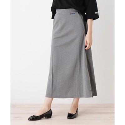 grove / グローブ FILAロングAラインスカート