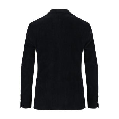 ラルディーニ LARDINI テーラードジャケット ブラック 46 コットン 99% / ポリウレタン 1% テーラードジャケット