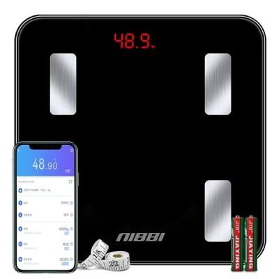 体重計 体組成計 23種類の健康項目測定可能 Bluetooth スマホ連動 iOS/Android対応 アプリで健康管理 電池付き 日本語説明書付き