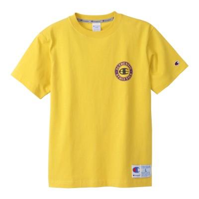 チャンピオン-ヘリテイジウェアショートスリーブTシャツ C3-S302 749 半袖イエロー