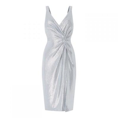 エリザジェイ Eliza J レディース ワンピース ワンピース・ドレス Eliza VNk Mttl BodConLd91 Metallic