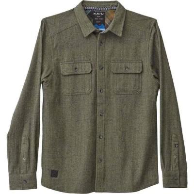 カブー KAVU メンズ シャツ トップス Franklin Shirt Thyme