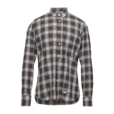 TINTORIA MATTEI 954 シャツ グレー 41 コットン 100% シャツ