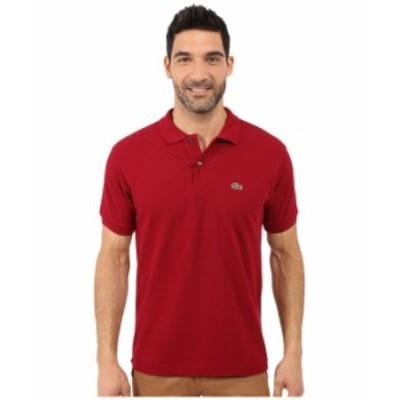 ラコステ メンズ シャツ トップス L1212 Classic Pique Polo Shirt Bordeaux