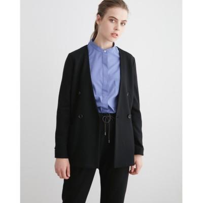 Traditional Weatherwear / NO COLLAR JERSEY JACKET WOMEN ジャケット/アウター > ノーカラージャケット
