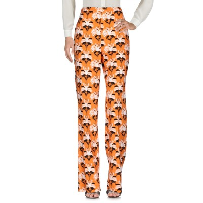 MARIA GRAZIA SEVERI パンツ オレンジ 40 レーヨン 96% / ポリウレタン 4% パンツ