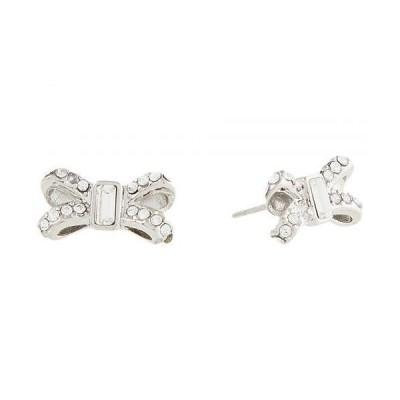 Ted Baker テッドベイカー レディース 女性用 ジュエリー 宝飾品 イヤリング Sabla Crystal Sparkle Bow Stud Earrings - Silver/Crystal