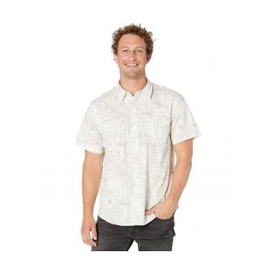 Lucky Brand ラッキーブランド メンズ 男性用 ファッション ボタンシャツ Short Sleeve San Gabriel - White Print