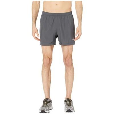アシックス メンズ ハーフパンツ Run Silver 5 Shorts
