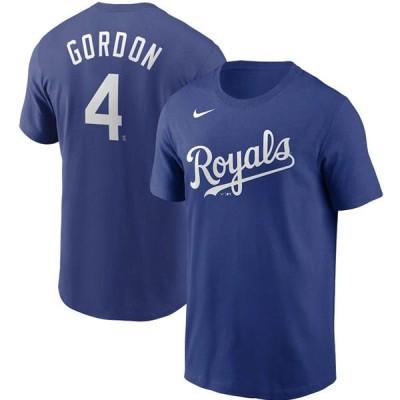 MLB アレックス・ゴードン カンザスシティ・ロイヤルズ Tシャツ ネーム&ナンバー ナイキ/Nike ロイヤル【OCSL】