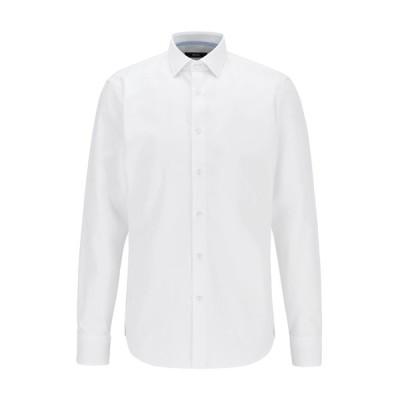 ボス シャツ メンズ トップス GELSON - Shirt - white