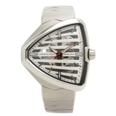 【ウォッチ】HAMILTON ハミルトン エルヴィス80 スケルトン ベンチュラ スケルトン文字盤 メンズ QZ SS クォーツ 腕時計 H245550